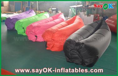 중국 판매를 위한 주문을 받아서 만들어진 색깔을 가진 260x70cm 바닷가 자기 공기 소파 부대 소파 협력 업체