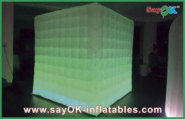 중국 휴일 훈장을 위한 팽창식 휴대용 사진 부스를 점화하는 LED 협력 업체