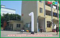 중국 개회식 팽창식 무희 긴 무용 Inflatables 백색 공장