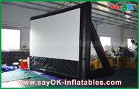 중국 7mLx4mH 투상을 위한 구조에 팽창식 영화 스크린 PVC 물자 공장