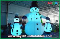 중국 옥스포드 피복 팽창식 휴일 훈장 당을 위한 거대한 크리스마스 눈사람 공장