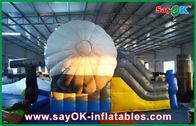 중국 옥외 비행기 모양 놀기를 위한 세륨/UL 송풍기를 가진 팽창식 되튐 슬라이더 공장