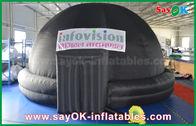 양질 팽창식 공기 천막 & 플라네타륨 360 영화 팽창식 투상 천막 박물관을 위한 팽창식 돔 천막 판매