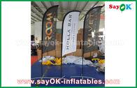 중국 촉진/광고를 위한 휴대용 팽창식 공기 칼 깃발 접히는 천막 공장