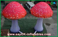 중국 주문 팽창식 제품 붙박이 송풍기를 가진 빨간 옥스포드 피복 버섯 공장