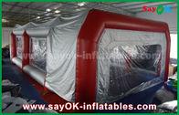 중국 차 페인트 살포를 위한 방수 팽창식 공기 천막 PVC 살포 부스 공장