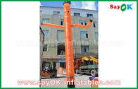 중국 옥외 광고를 위한 세륨 송풍기를 가진을 가진 빨강/주황색/파란 팽창식 공기 무희/하늘 무희 공장