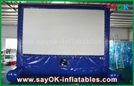 중국 /당/사건을 위해 광고 주문을 받아서 만들어지는 파란 팽창식 옥외 영화 스크린 공장