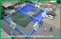 중국 튼튼한 방수포 팽창식 축구 운동장, 휴대용 팽창식 축구장 공장