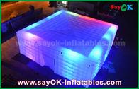 중국 당을 위한 LED 점화를 가진 거대한 백색 210 D 옥스포드 팽창식 공기 천막 공장