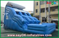 중국 로고 인쇄를 가진 큰 반대로 UV 0.55명의 PVC 방수포 팽창식 도약자 공장