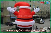 중국 크리스마스 훈장을 위한 큰 사랑스러운 옥외 팽창식 산타클로스 공장