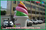 중국 거인은 팽창식 제품,/촉진/당을 위한 팽창식 아이스크림을 광고 주문을 받아서 만들었습니다 공장