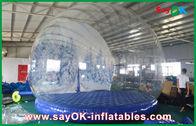 중국 3m Dia 광고를 위한 팽창식 휴일 훈장/투명한 팽창식 Chrismas 눈 지구 공장