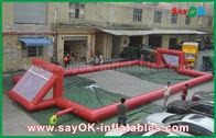 중국 거인 0.5mm PVC 방수포 팽창식 축구장, 휴대용 팽창식 축구장 공장