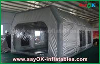 중국 Prefessional 차 회화를 위한 회색 방수 PVC와 옥스포드 피복 팽창식 페인트 부스 공장