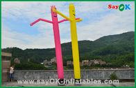 양질 팽창식 공기 천막 & 휴일 훈장 빨강/황색 팽창식 관 남자 상업적인 춤 공기 남자 판매