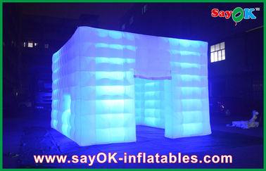 튼튼한 방수 팽창식 공기 천막은 지도한 빛와 야외에서 어울립니다
