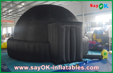 학교/공기 돔 천막을 위한 자동차 5m 거대한 까만 팽창식 플라네타륨