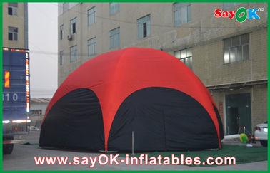 3개 M 빨간 육각형 직업을 위한 큰 옥외 팽창식 천막 PVC