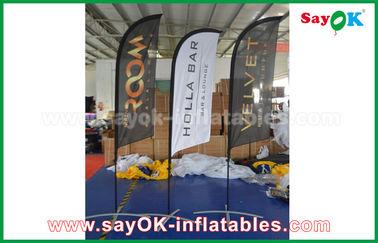 촉진/광고를 위한 휴대용 팽창식 공기 칼 깃발 접히는 천막