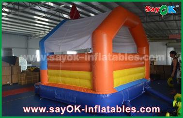아기 공기 도약자 팽창식 trampoline, 행복한 도약 쾌활한 성곽
