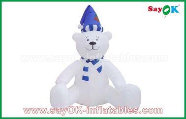 주문을 받아서 만들어지는 210의 D Oxfor 피복 크리스마스 눈사람 팽창식 휴일 훈장