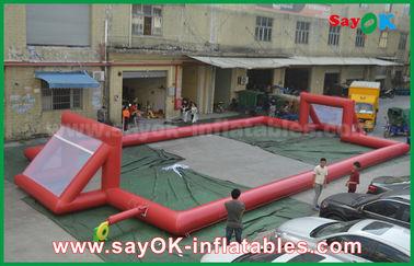 거인 0.5mm PVC 방수포 팽창식 축구장, 휴대용 팽창식 축구장