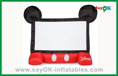 재미있은 아이 디즈니 팽창식 영화 스크린 이동할 수 있는 팽창식 영사기 스크린