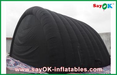 옥스포드 피복을 가진 까만 방수 팽창식 공기 천막 및 Ourdoor를 위한 PVC 코팅
